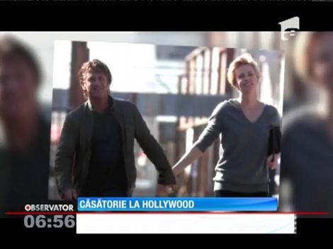 Charlize Theron şi Sean Penn vor să se căsătorească