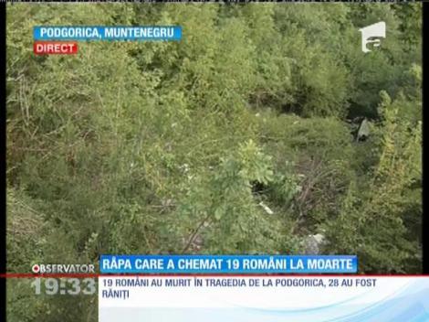 Troiţă în memoria tuturor celor care au sfârşit în râpa groazei din Muntenegru