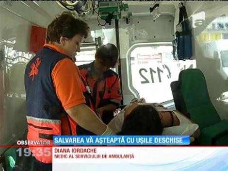 """Serviciul de Ambulanţă din Bucureşti a lansat programul """"Porţi deschise"""""""