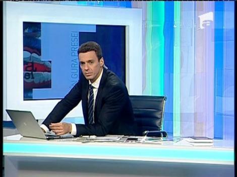 Mircea Badea, dialog cu procurorul Eugen Iacobescu