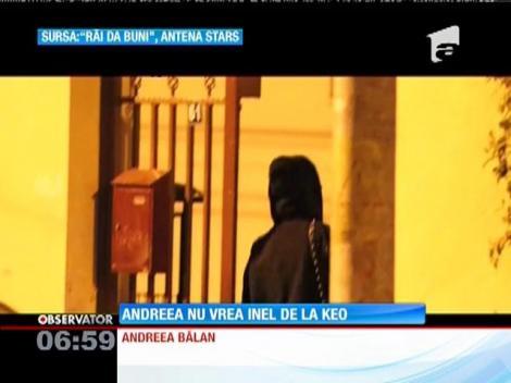 Andreea Bălan a fost cerută de soţie de Keo!