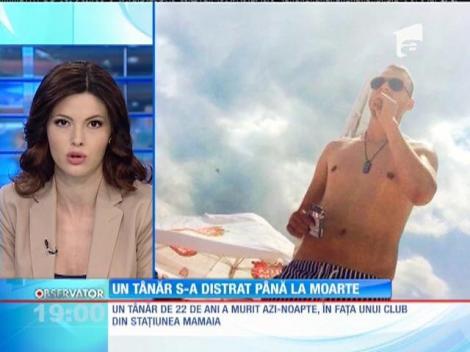 Un tânăr din Capitală a murit în faţa unui club faimos din staţiunea Mamaia