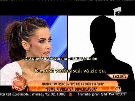Discuţie Oana Zăvoranu - martor anonim