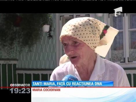 Tanti Maria faţă cu reacţiunea DNA