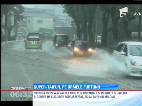 Super Taifun în Coreea de Sud