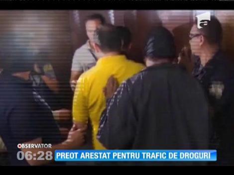 Preot spaniol, arestat pentru trafic de droguri