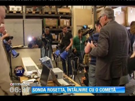 Sonda Rosetta, întâlnire cu o cometă