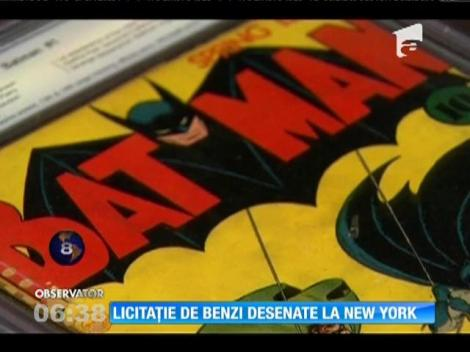 Licitație de benzi desenate la New York