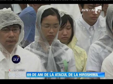 69 de ani de la atacul de la Hiroshima