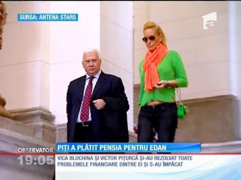Victor Pițurcă și Vica Blochina au îngropat securea războiului