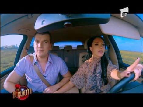 Dragostea plutește în aer, la propriu: Andreea și Gabi au zburat cu motoparapanta!