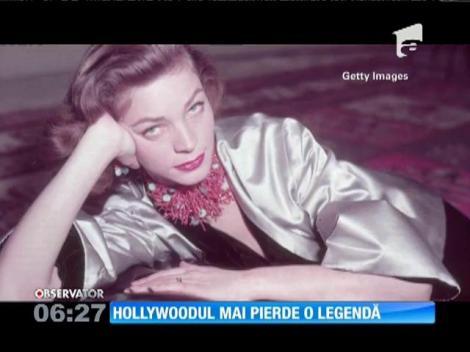 Actrița Lauren Bacall a încetat din viață la vârsta de 89 de ani