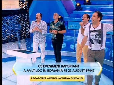 Runda 2: Ce eveniment important a avut loc în România pe 23 august 1944?
