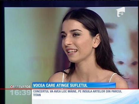 Alexandra Ușurelu va avea primul ei concert cu orchestră