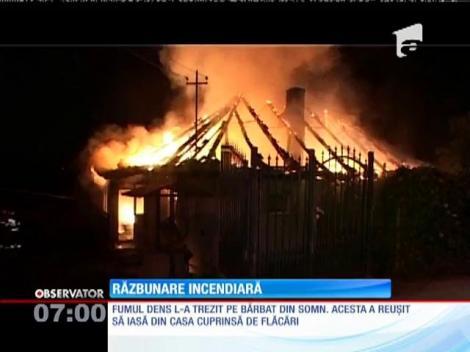 Un bărbat din Baia Mare, la un pas să ardă de viu