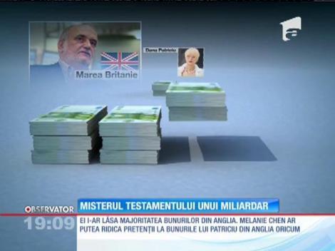 Trupul miliardarului Dinu Patriciu se va întoarce acasă