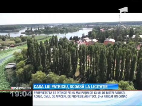 Casa lui Dinu Patriciu de pe lacul Snagov, scoasă la licitație