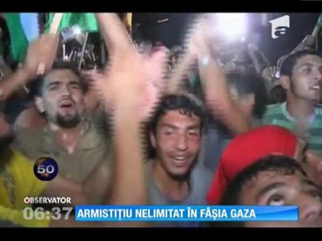 Armistițiu nelimitat în Fâșia Gaza