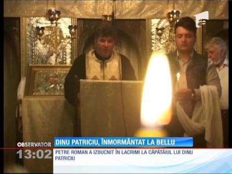 Dinu Patriciu, înmormântat la Cimitirul Bellu