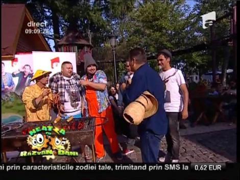 Nea Mărin face ordine cu bățul la Neatza cu Răzvan și Dani!