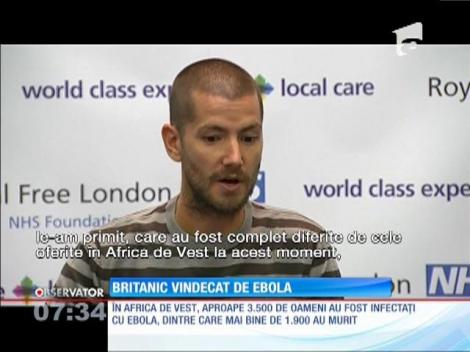 Britanic vindecat de Ebola