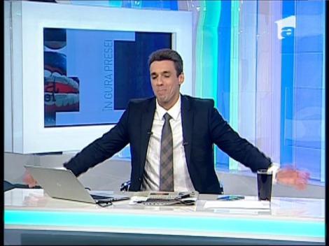 """Mircea Badea: """"Udrea o să ia maxim 3%, Macovei nu trece de 1%, iar Johannis nu va candida"""""""