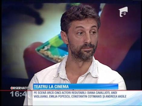 """Teatru la cinema! Piesa """"Un bărbat pentru Sara"""", marea premieră a toamnei la cinematograf"""