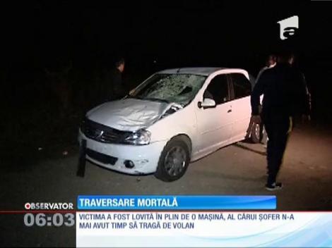 Un bărbat de 56 de ani a fost lovit mortal de o maşină, în Călăraşi