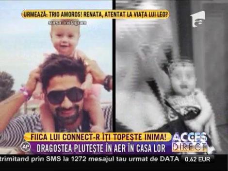 Connect-R, un tată exemplar: I-a cumpărat fetiței lui tobe și o pregătește să-i calce pe urme!
