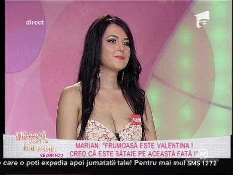 Marian, impresii după întâlnirea cu Valentina