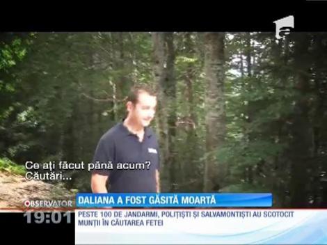 Fetița dispărută în munţii Retezat, găsită moartă