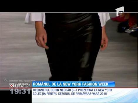 Dorin Negrău, spectacol vestimentar la Săptămâna Modei din New York