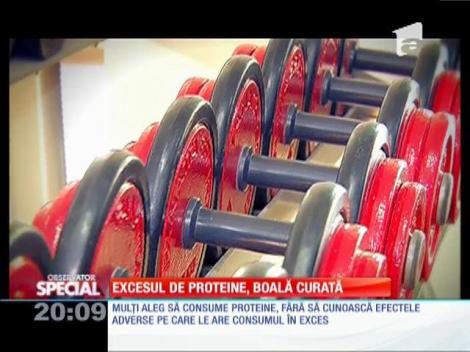 Excesul de proteine, boală curată