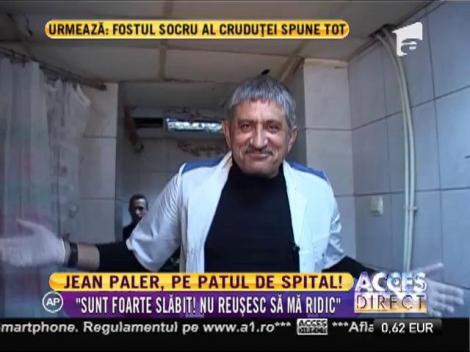 Actorul Jean Paler, de urgență la spital! ''Sunt foarte slăbit, nu pot să mă ridic''
