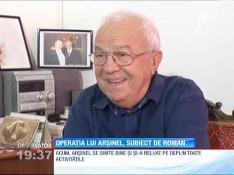 Alexandru Arşinel, subiect de carte