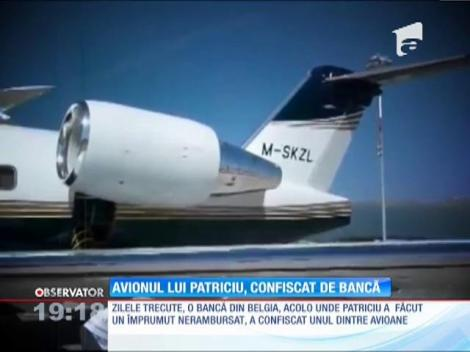 Avionul lui Dinu Patriciu, confiscat de bancă