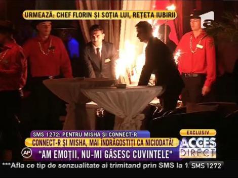 """Cel mai aşteptat moment al nunţii! Connect-R şi Misha, în """"Dansul mirilor"""""""