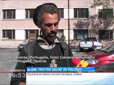 Un globe trotter spaniol a fost luat pe sus de poliţiştii din Piteşti