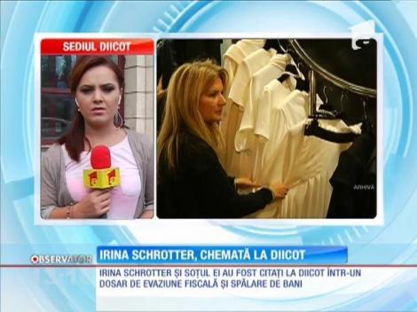 Irina Schrotter, chemată la DIICOT