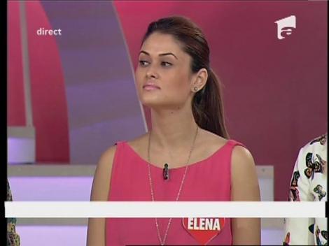 """Elena: """"Trebuie să păstrez distanța față de Dănuț"""""""