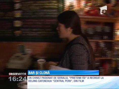 """Cafeneaua din celebrul serial american """"Prietenii tăi"""" are o soră geamănă la Beijing"""