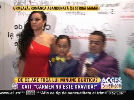 Carmen Minune îi pregăteşte o surpriză de proporţii tatălui ei?