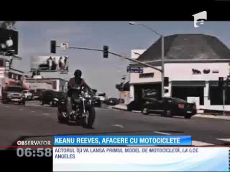 Keanu Reeves, afaceri cu motociclete