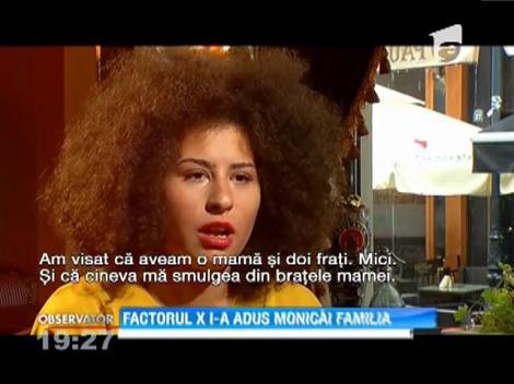 Factorul X i-a adus Monicăi familia
