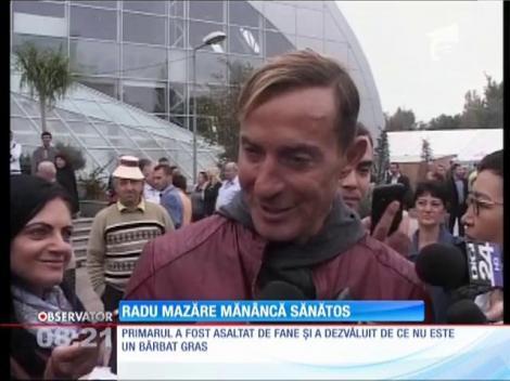 Radu Mazăre mănâncă sănătos