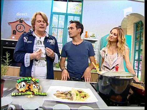 """Rețeta lui Vlădutz: """"Tăieţei cu ciuperci """""""
