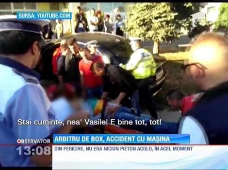 Un arbitru de box din Focşani a suferit un atac cerebral în timp ce era la volan