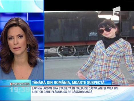 Continuă misterul în cazul tinerei din Iași care a fost găsită moartă în Italia