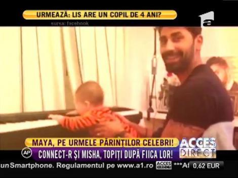 VIDEO: Te va cuceri imediat: Fiica lui Connect-R și a Mishei cântă la pian!