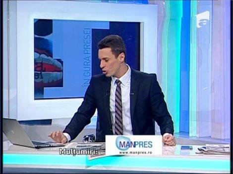 """Mircea Badea: """"Sper ca Dan Diaconescu să iasă peste Elena Udrea, la alegeri!"""""""